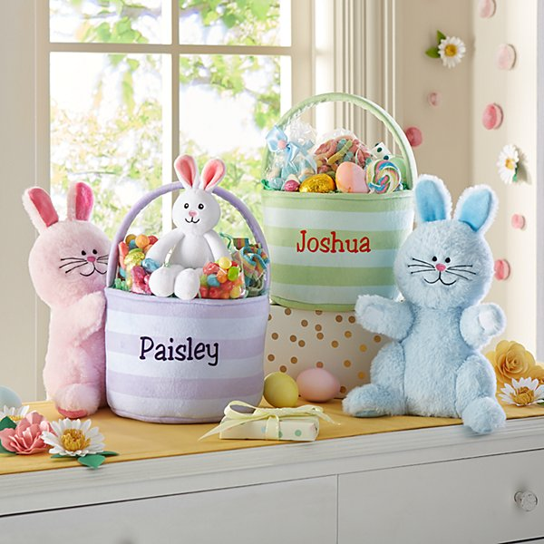 Boppin' Bunnies Easter Basket