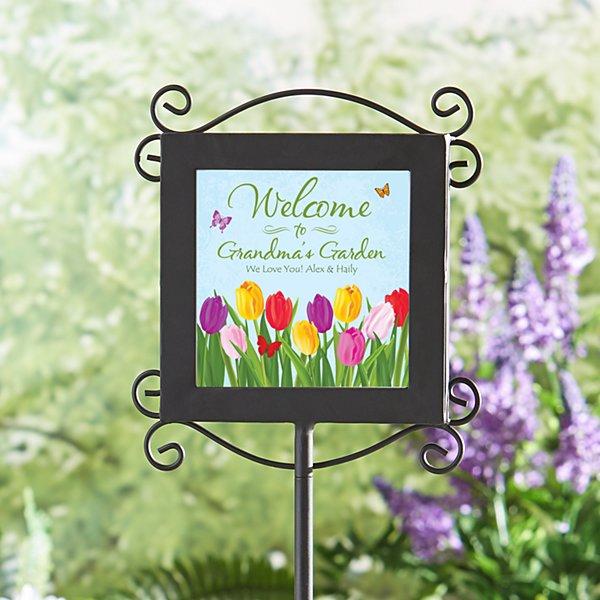 Welcome Spring Garden Stake