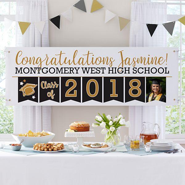 Yay Grad! Celebration Photo Banner