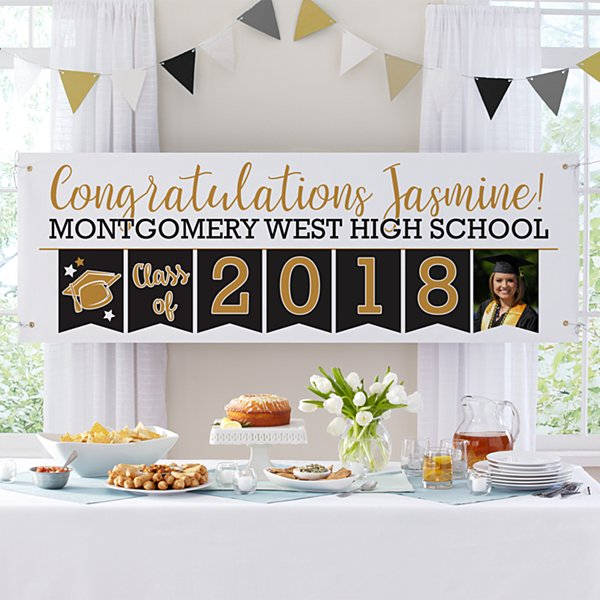 Yay Grad! Celebration Photo Banner