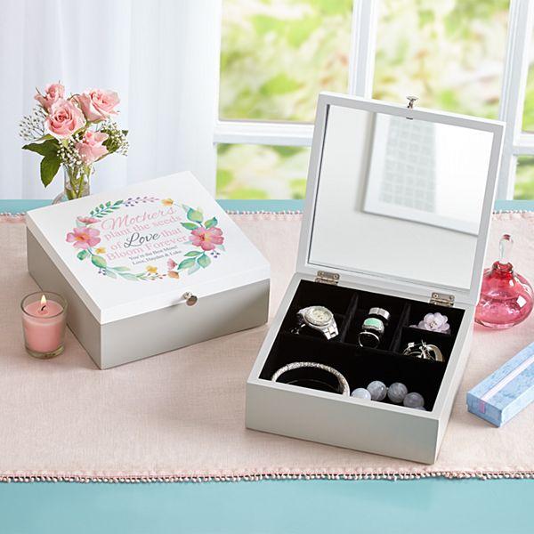 Her Love Blooms Jewelry Box