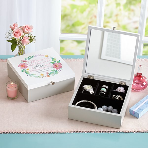 Her Love Blooms Jewelry Box