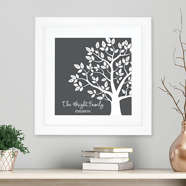 Our Family Tree Square Framed Print