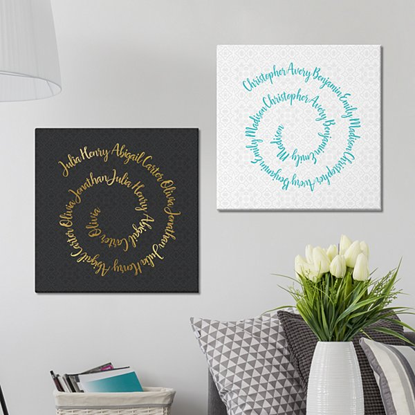 Circle of Love Canvas