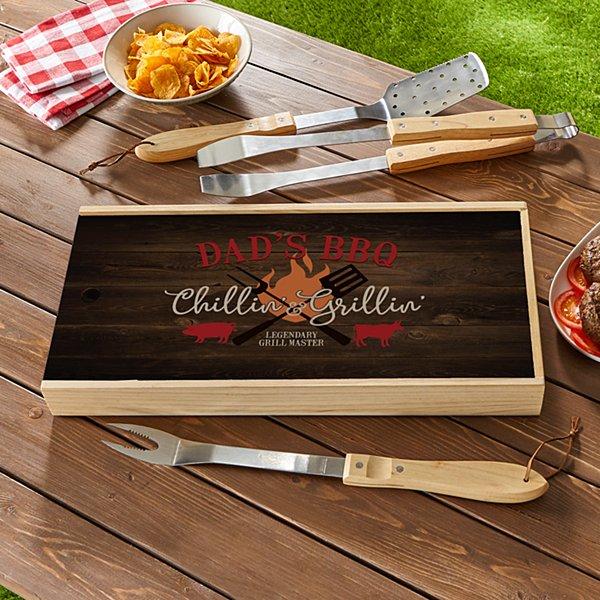 Chillin' & Grillin' BBQ Tool Set