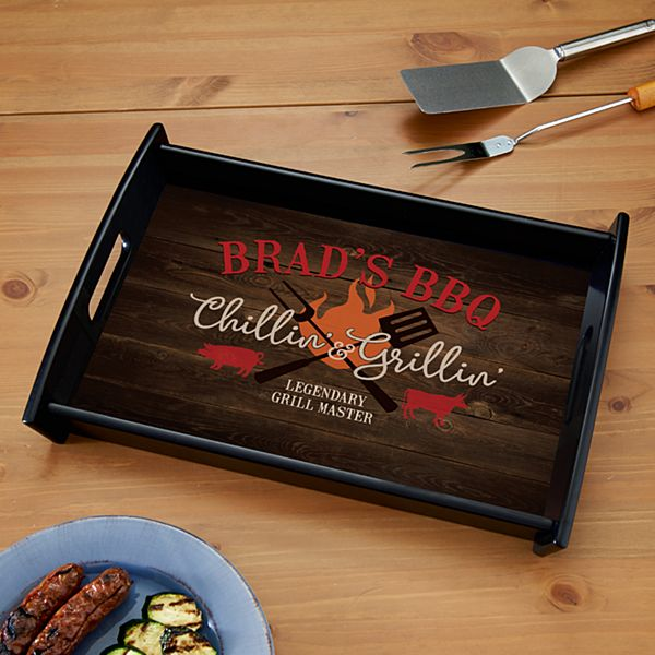 Chillin' & Grillin' Serving Tray