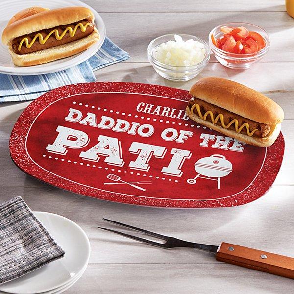 Daddio of the Patio BBQ Platter