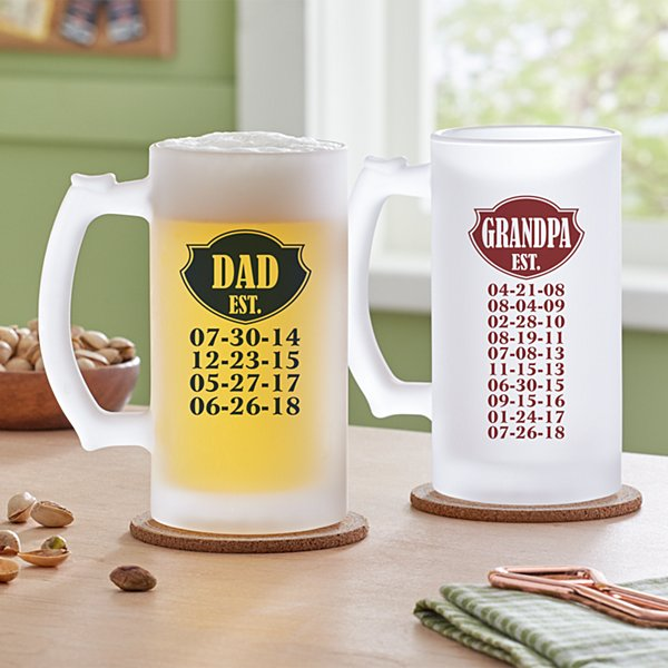 Established Frosted Beer Mug