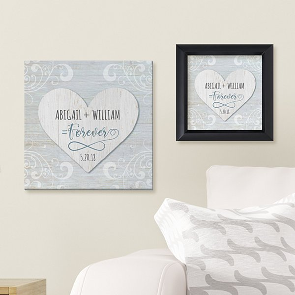 Infinite Love Story Wall Art