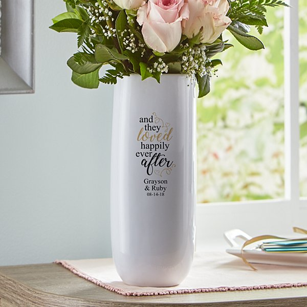 They Loved Happily Ever After Vase
