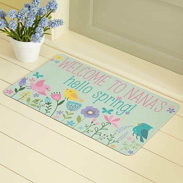 Hello Spring! Doormat