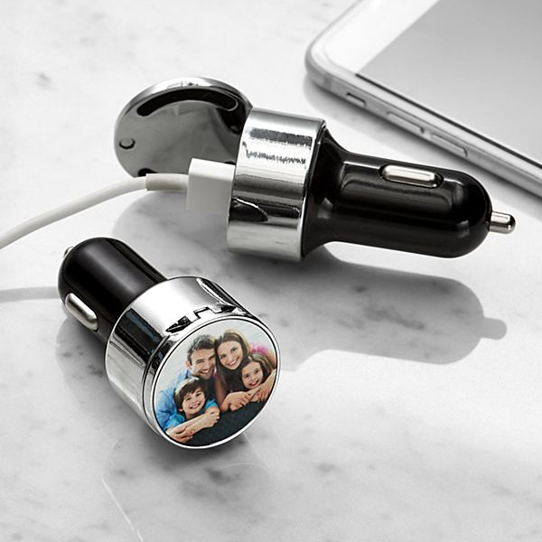 USB Photo Car Charger