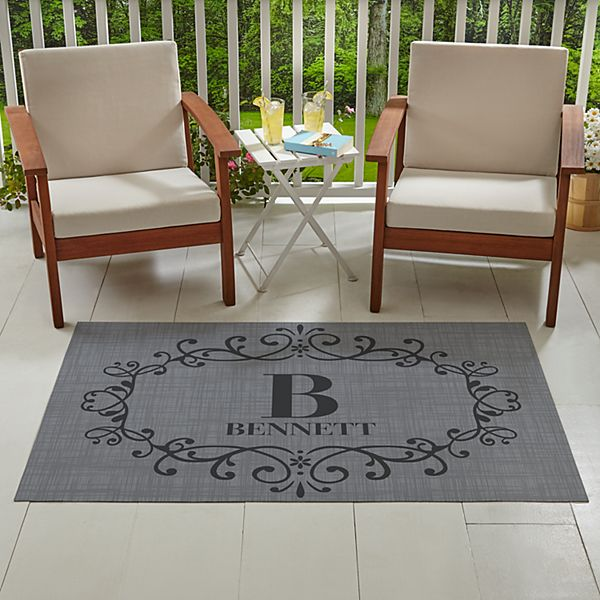 Oversized Family Name Outdoor Mat