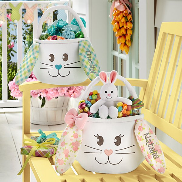 Sweet Easter Bunny Basket