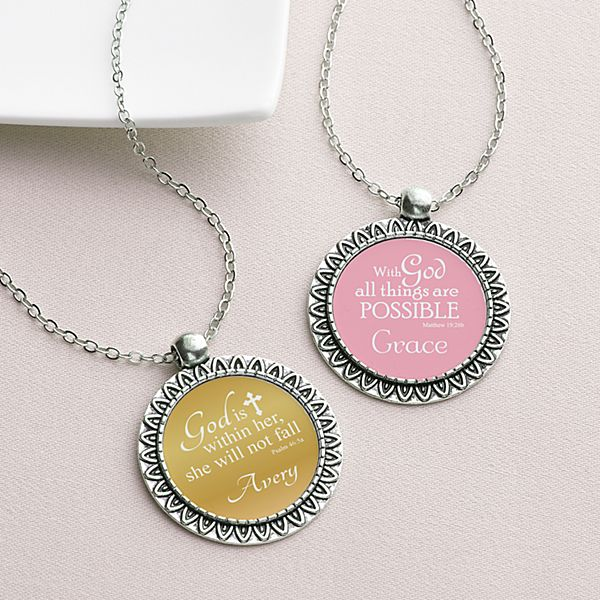 Words Of Faith Necklace
