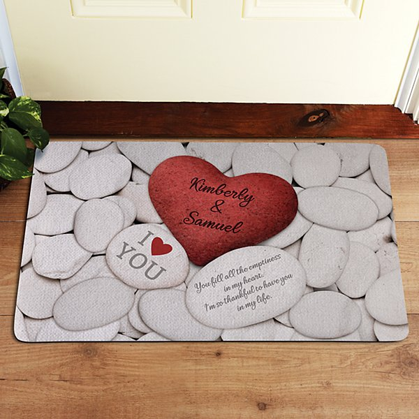 Love Rocks Doormat