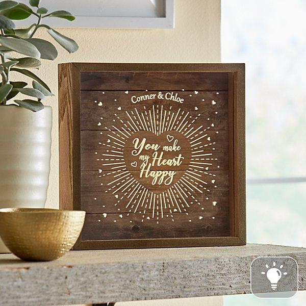 My Heart is Happy Light-Up Box