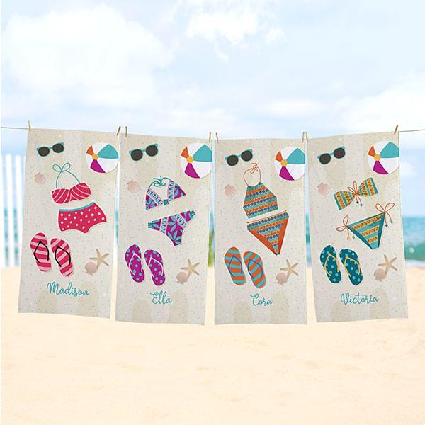 Bathing Beauty Beach Towel