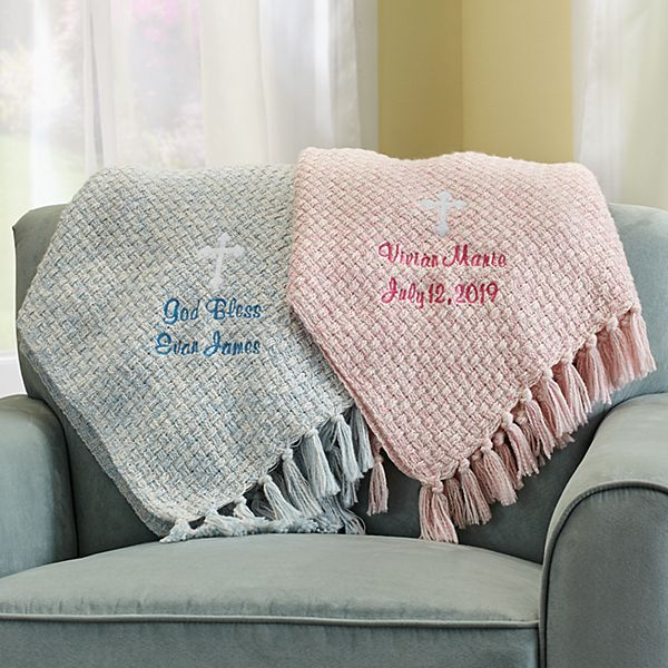 Bundled Blessings Honeycomb Blanket