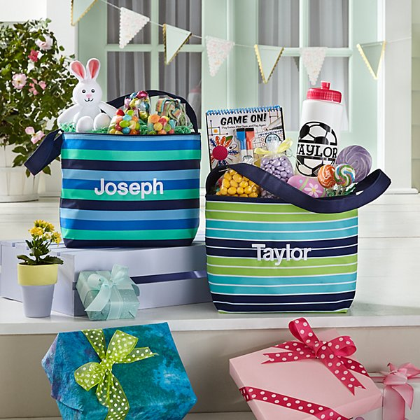Easter Stripes Tote