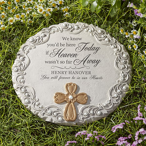 In Heaven Memorial Stepping Stone