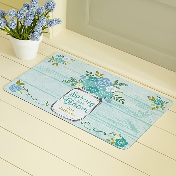 Spring Is In Bloom Doormat