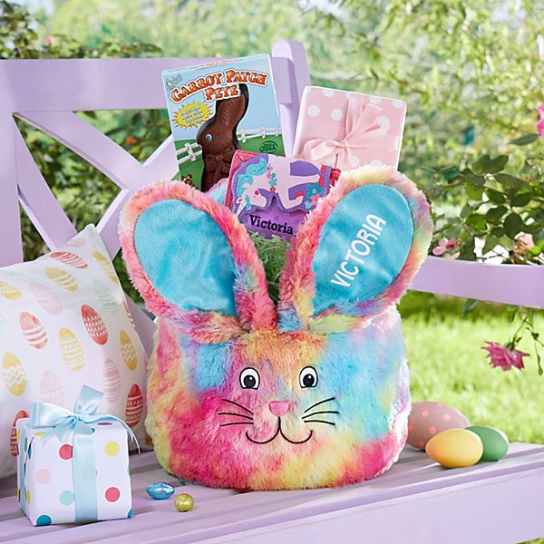 Tie Dye Easter Basket