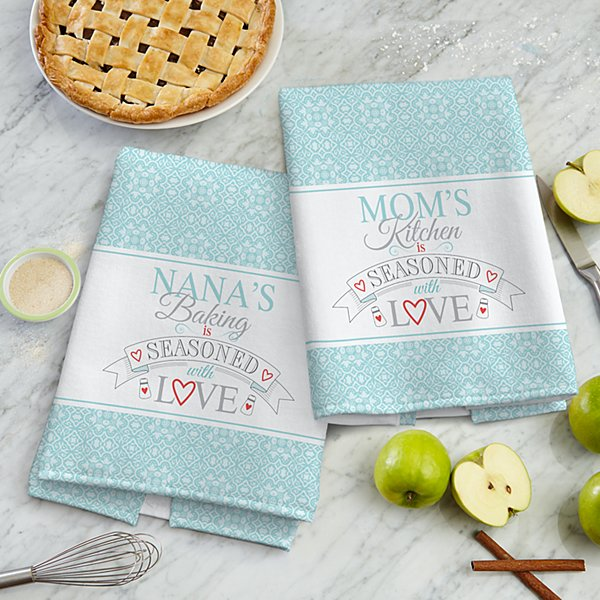 Seasoned With Love Kitchen Towel