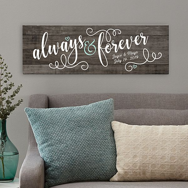 Always & Forever Canvas