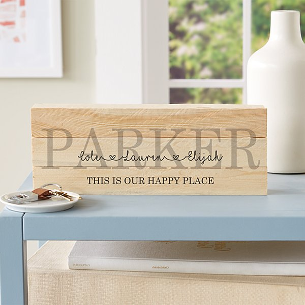 Family Love Mini Wood Pallet