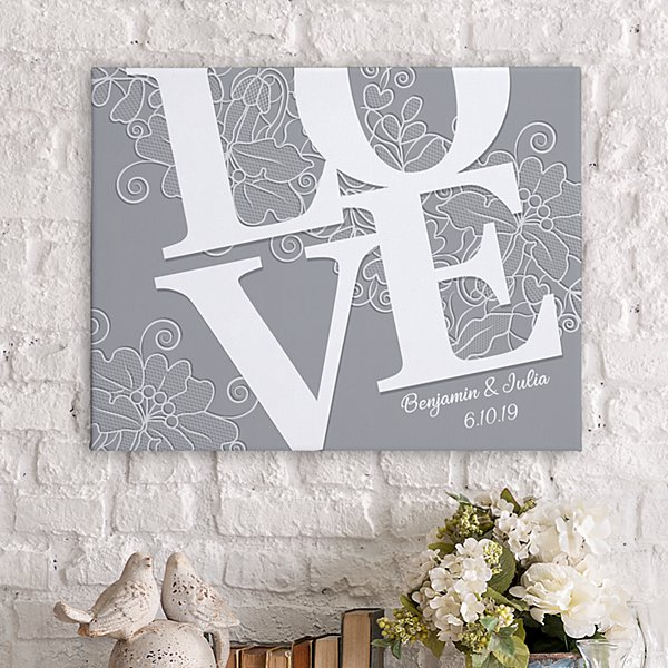 LOVE Couple Canvas