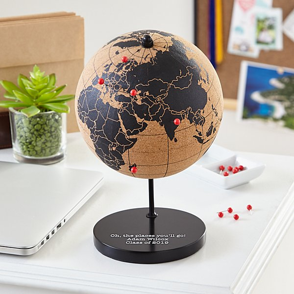 The Places You'll Go Cork Globe