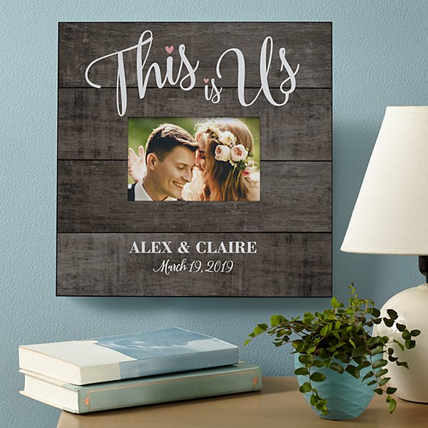 This is Us Wedding Frame