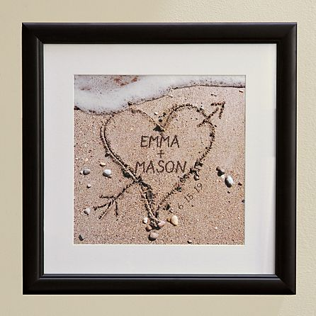 Love Heart Photo Picture Frame Wedding Birthday Anniversary Gift.