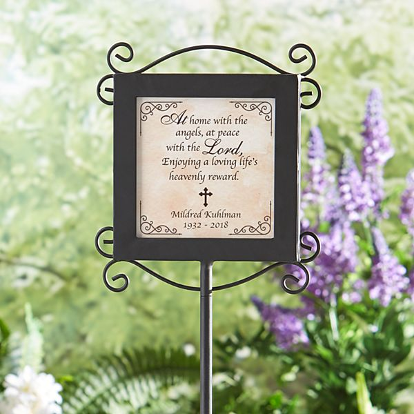 Garden Remembrance Stake