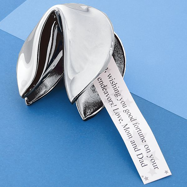 Silver Graduation Fortune Cookie