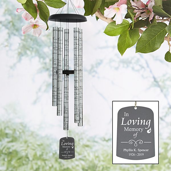 Memorial Sonnet Windchime
