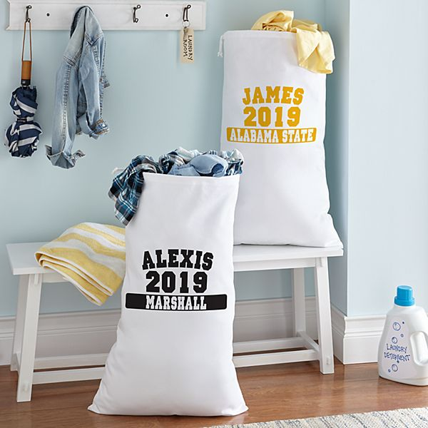 School Colors Laundry Bag