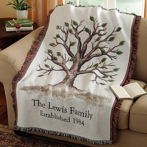 Family Tree Throw