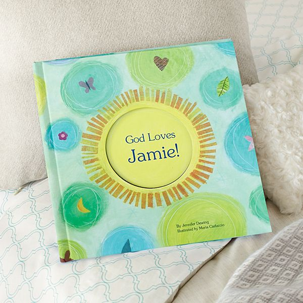 God Loves Personalized Book