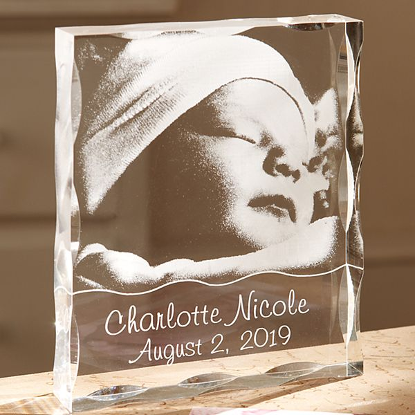Baby Acrylic Photo Block