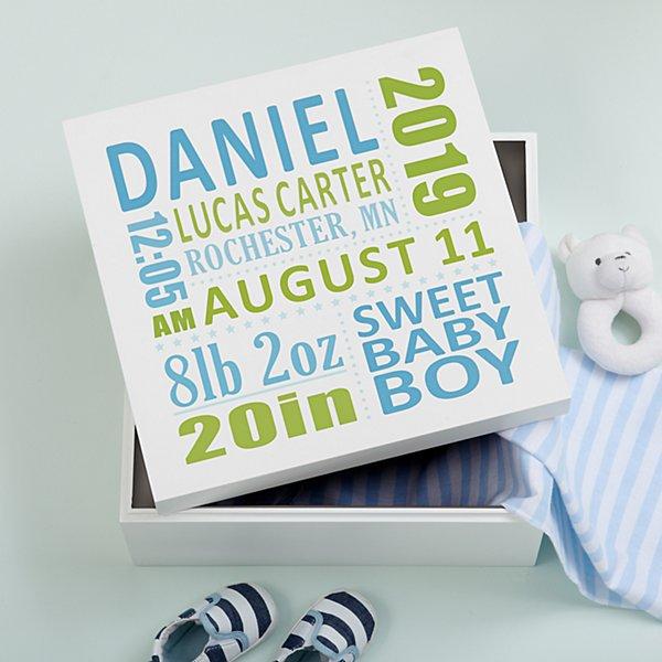 Baby's Precious Memories Box