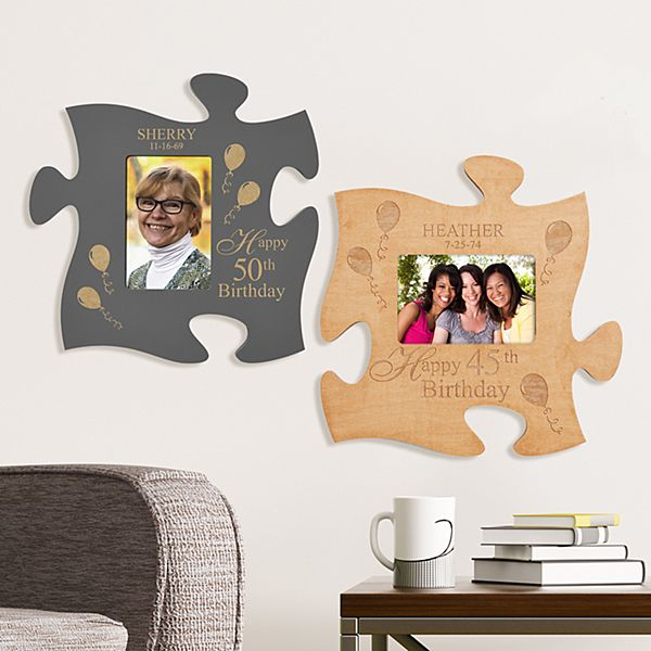 Birthday Celebration Puzzle Piece