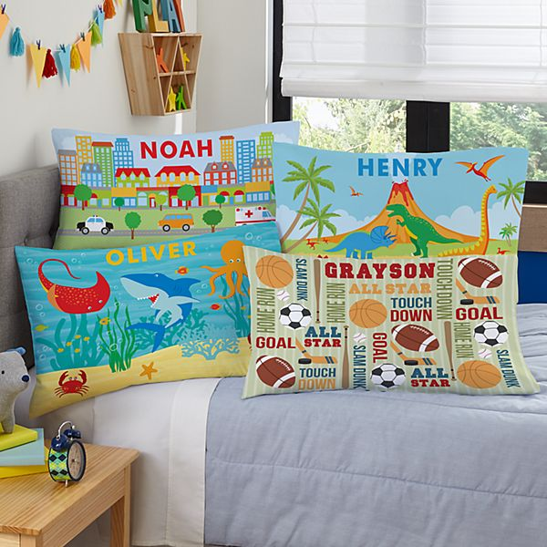 Boys' Sleepy-Time Pillowcase
