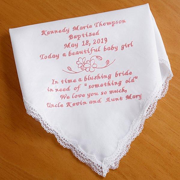 Sweet Baby Handkerchief