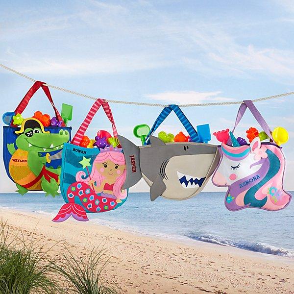 Stephen Joseph® Beachy Fun Tote & Sand Toys