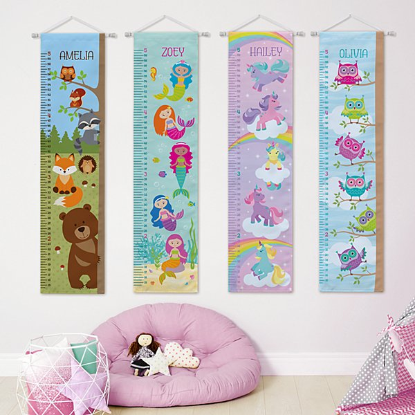 Girls Taller & Taller Growth Charts