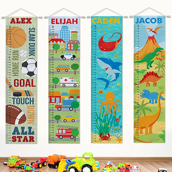 Boys Taller & Taller Growth Charts