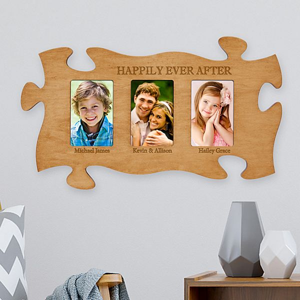 3 Frame Wood Puzzle Piece
