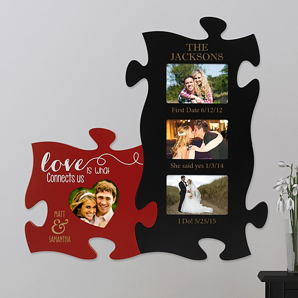 Love Connects Us Forever Puzzle Set